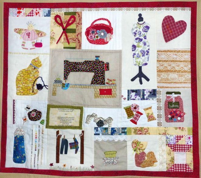 Impressionen - Wandbehang patchwork ...